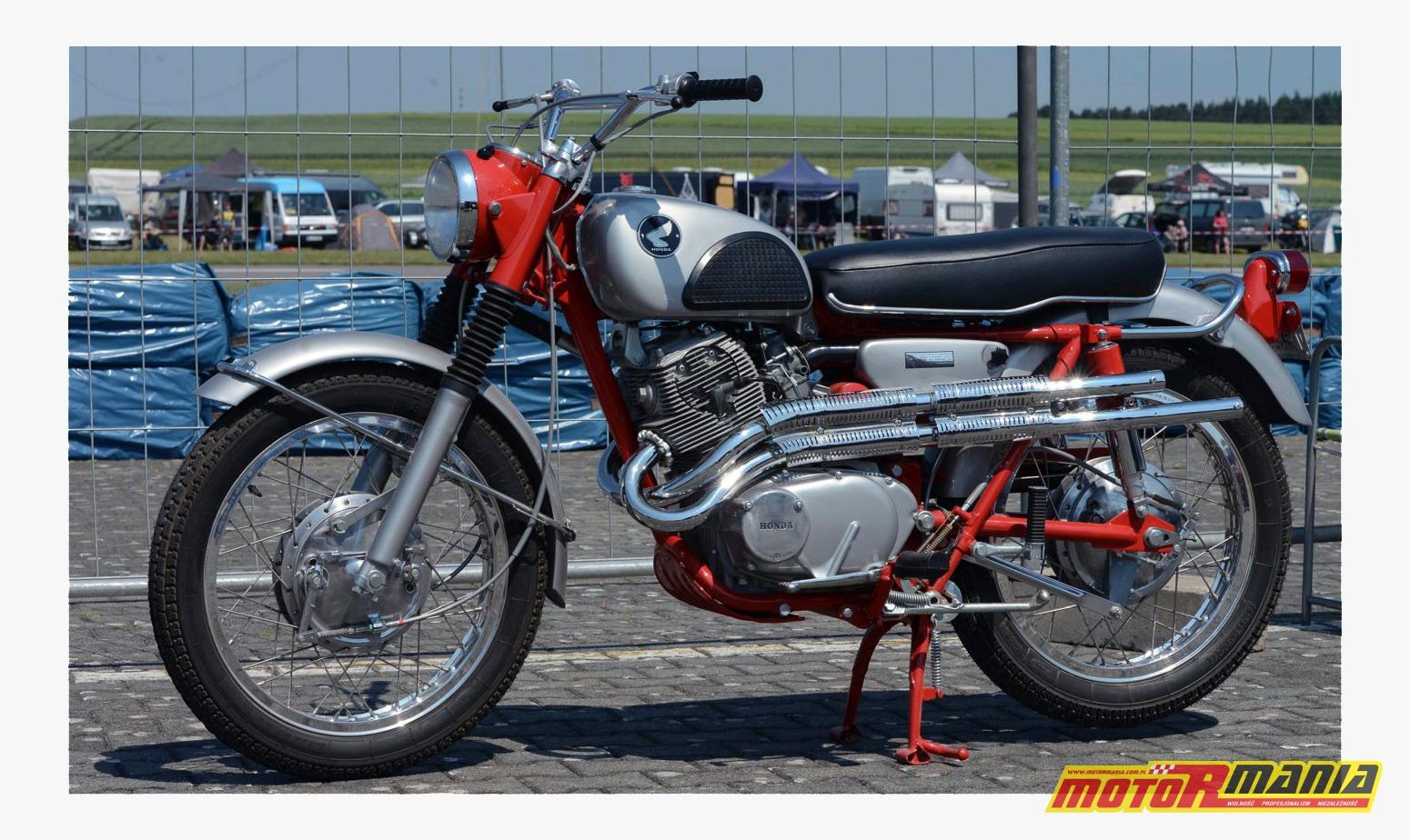Honda CL 77 Scrambler — kopia