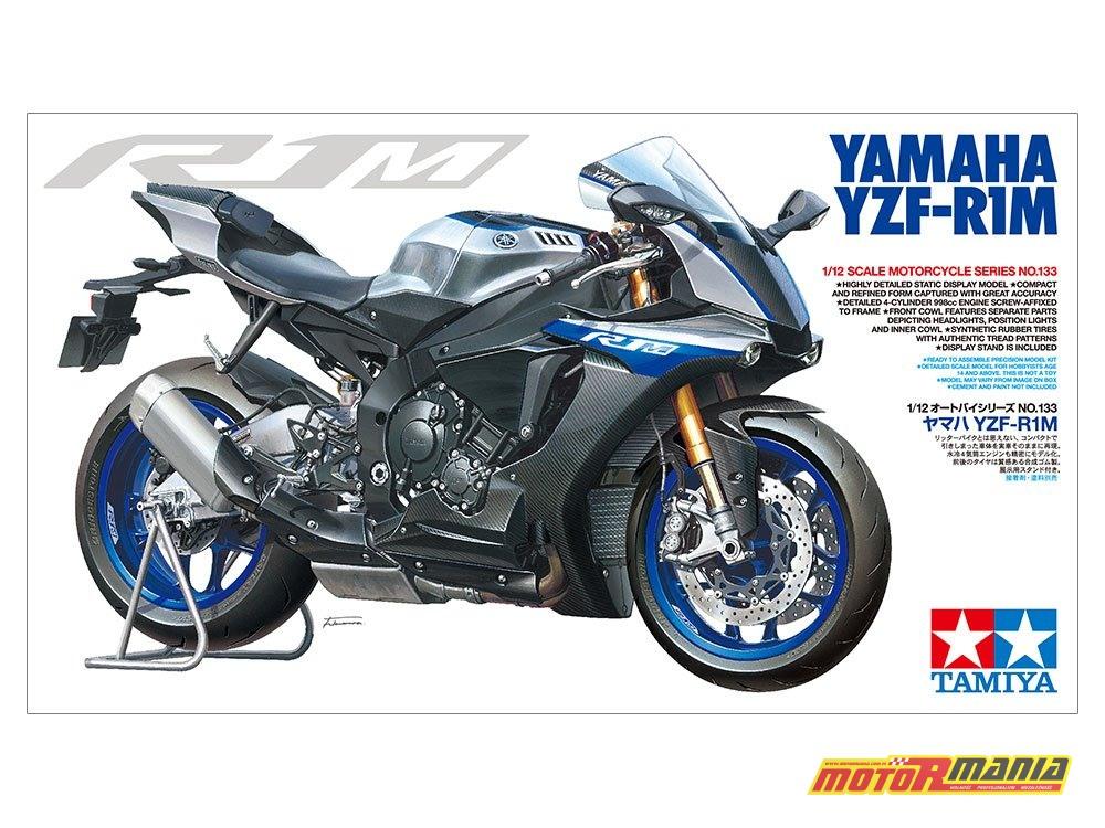 Yamaha YZF-R1M 2018 model Tamiya 1-12 nr 14133 (11)