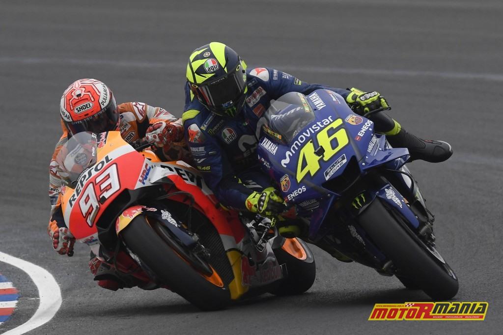 """Pamiętne zderzenie w Argentynie. """"Popełniłem błąd, chciałem przeprosić..."""" - mówiłpóźniej Marquez / zdjęcia: Dorna/MotoGP"""
