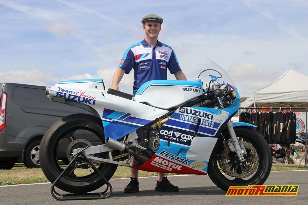 rg500 suzuki - Danny Webb - Classic TT 2018