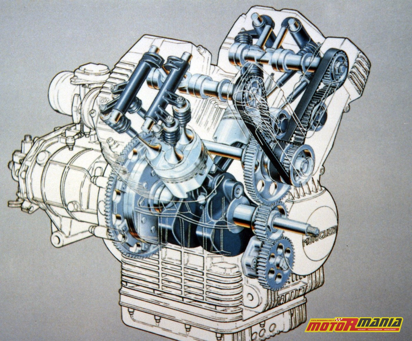 Przekrój silnika