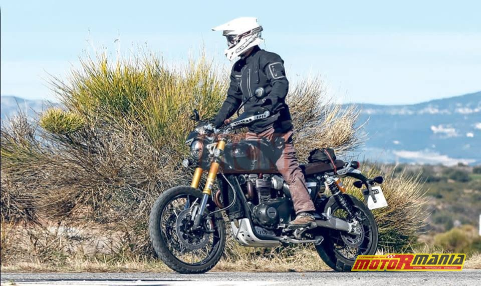 Scrambler 1200 spy shot
