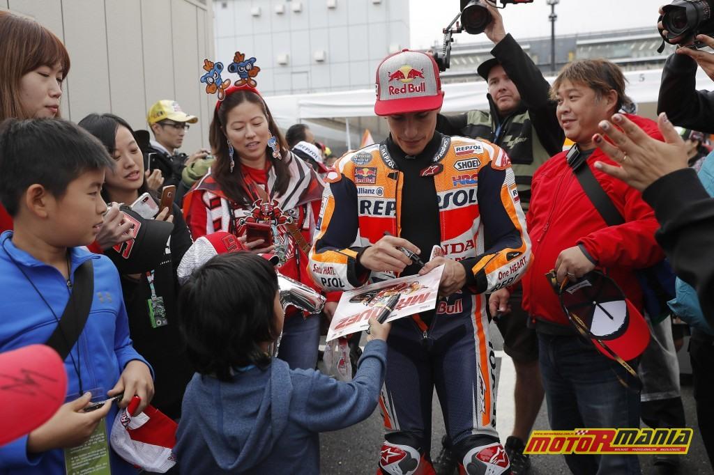 Japońscy fani jak zwykle pełni entuzjazmu