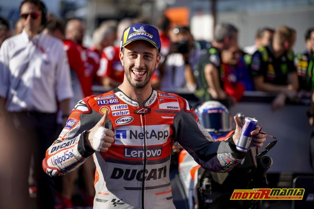 Dovi jest pewny siebie - zdjęcia: Ducati, Repsol, Yamaha, Avintia, Aprilia