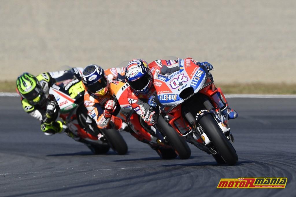 Crutchlow ubolewał, że nie zaatakował na początku wyścigu - foto: Ducati