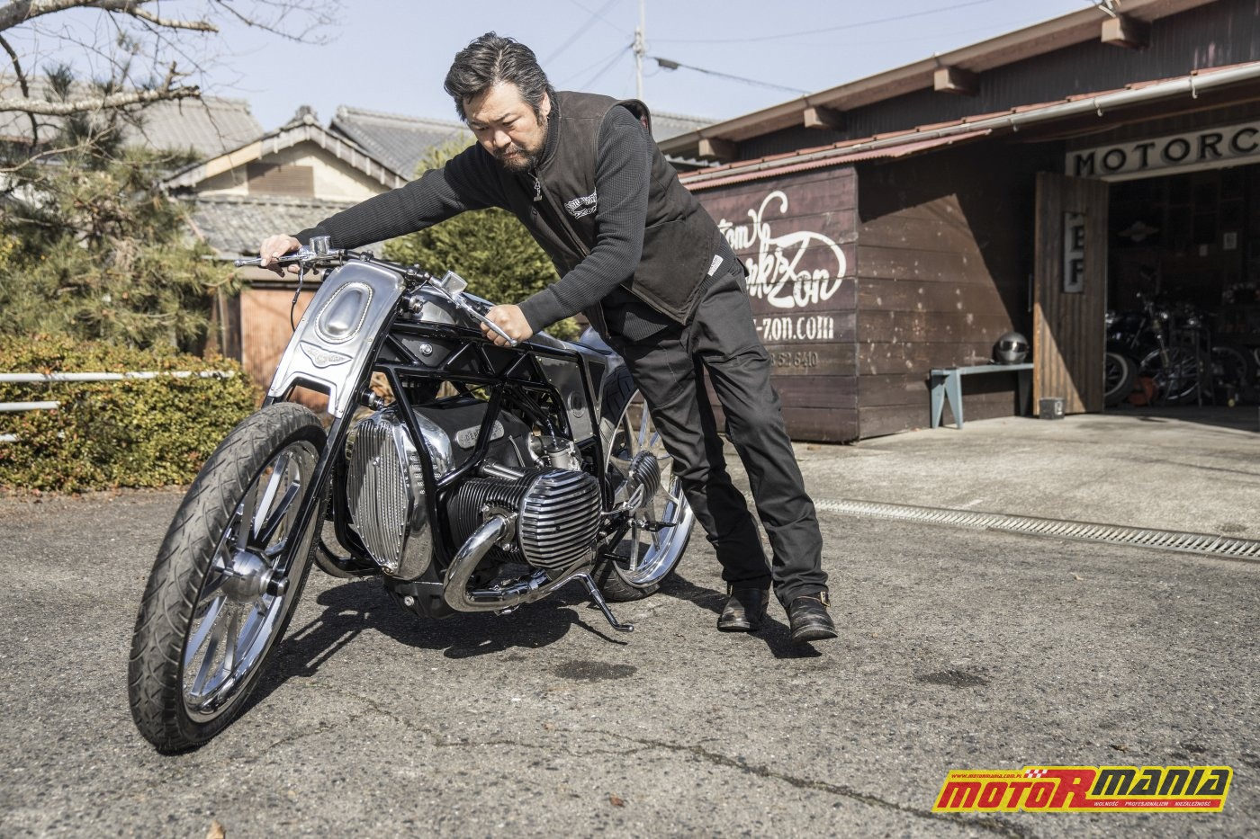 BMW R18 silnik boxer 1800 - the departed custom works zon (14)