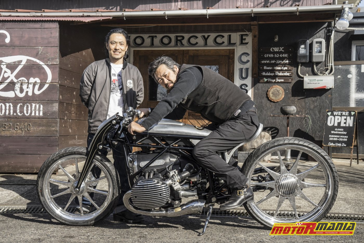 BMW R18 silnik boxer 1800 - the departed custom works zon (25)