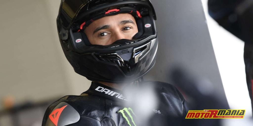 Lewis Hamilton Lowes van der Mark Yamaha Pata Jerez (2)