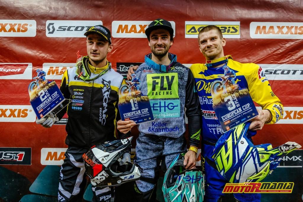 Mistrzostwa Świata SuperEnduro - podium Puchar Europy