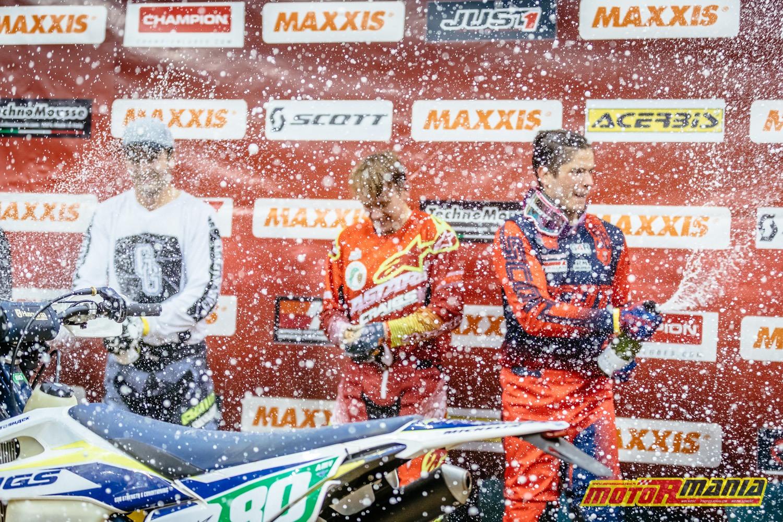 Mistrzostwa Świata SuperEnduro - podium klasa Junior