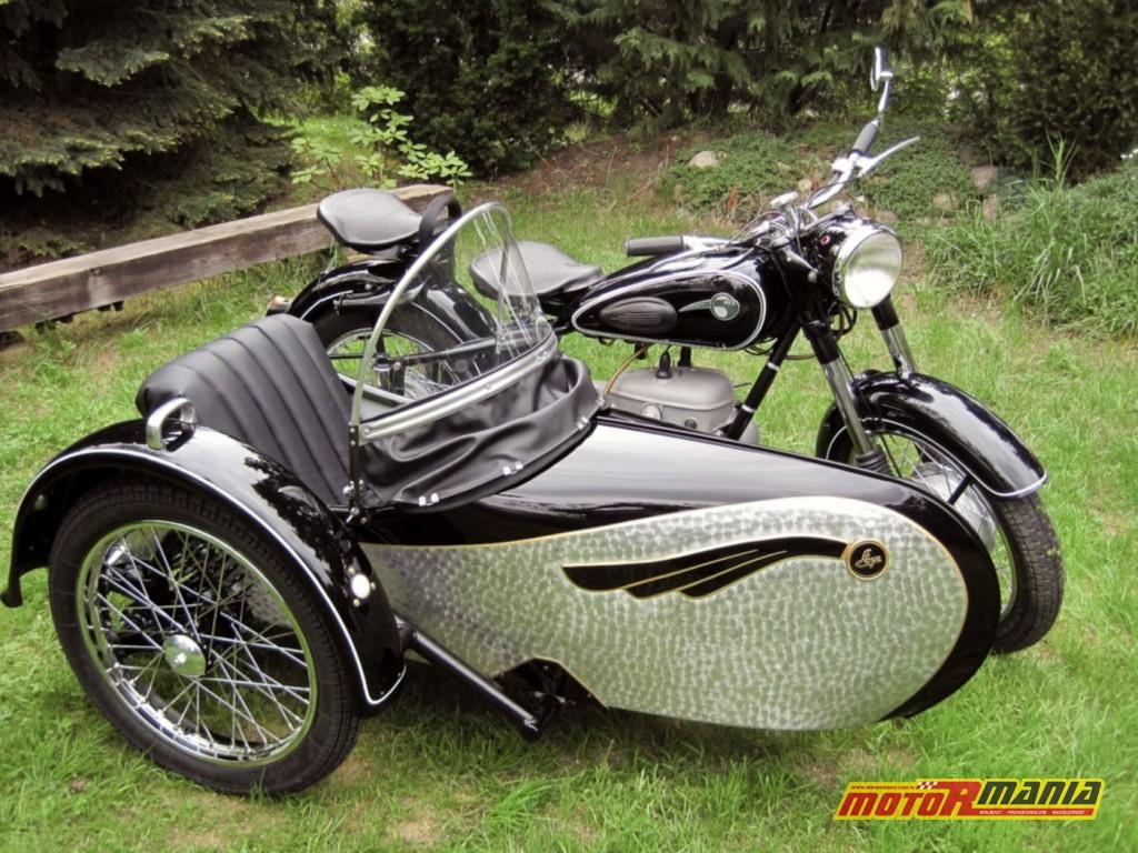 Wersja z wózkiem bocznym