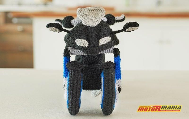 Yamaha Niken Amigurumi szydełkowanie wypchana zabawka (1)