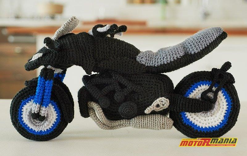 Yamaha Niken Amigurumi szydełkowanie wypchana zabawka (2)