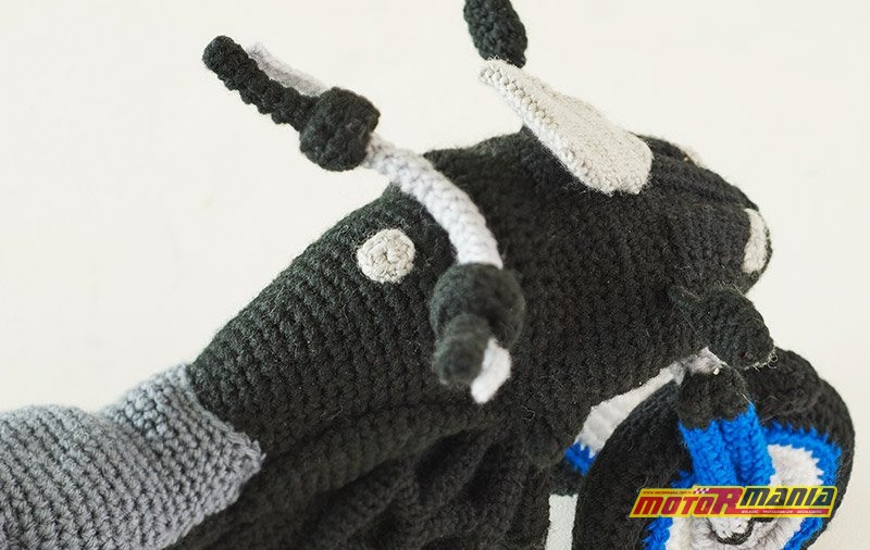 Yamaha Niken Amigurumi szydełkowanie wypchana zabawka (3)