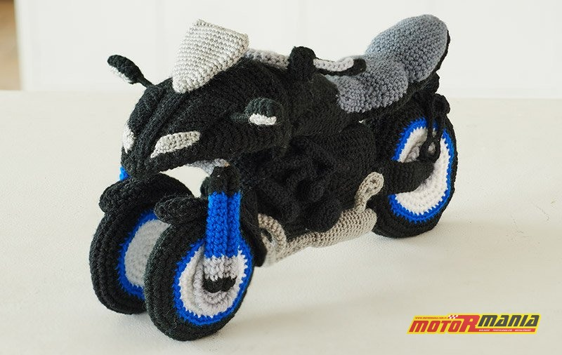 Yamaha Niken Amigurumi szydełkowanie wypchana zabawka (4)