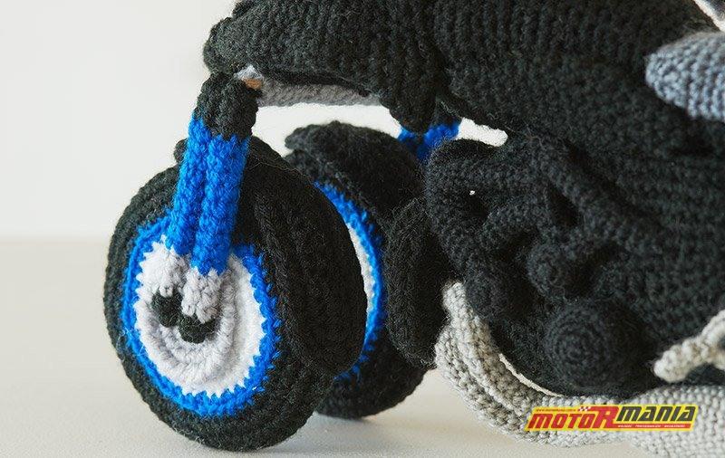 Yamaha Niken Amigurumi szydełkowanie wypchana zabawka (5)