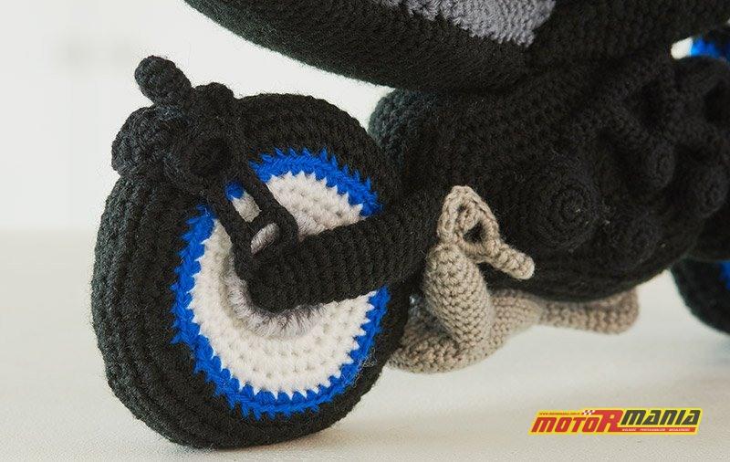 Yamaha Niken Amigurumi szydełkowanie wypchana zabawka (7)