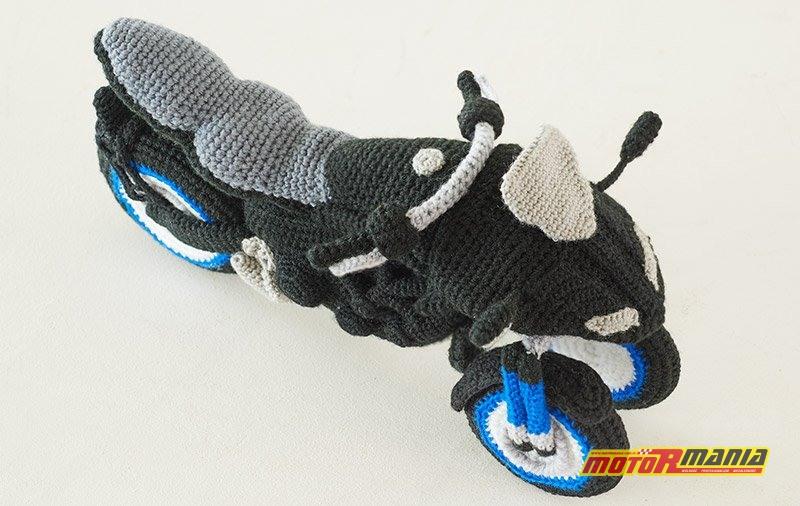 Yamaha Niken Amigurumi szydełkowanie wypchana zabawka (8)