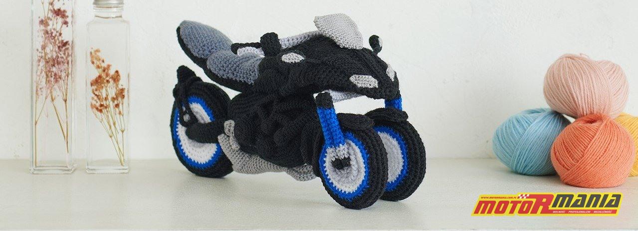 Yamaha Niken Amigurumi szydełkowanie wypchana zabawka (9)
