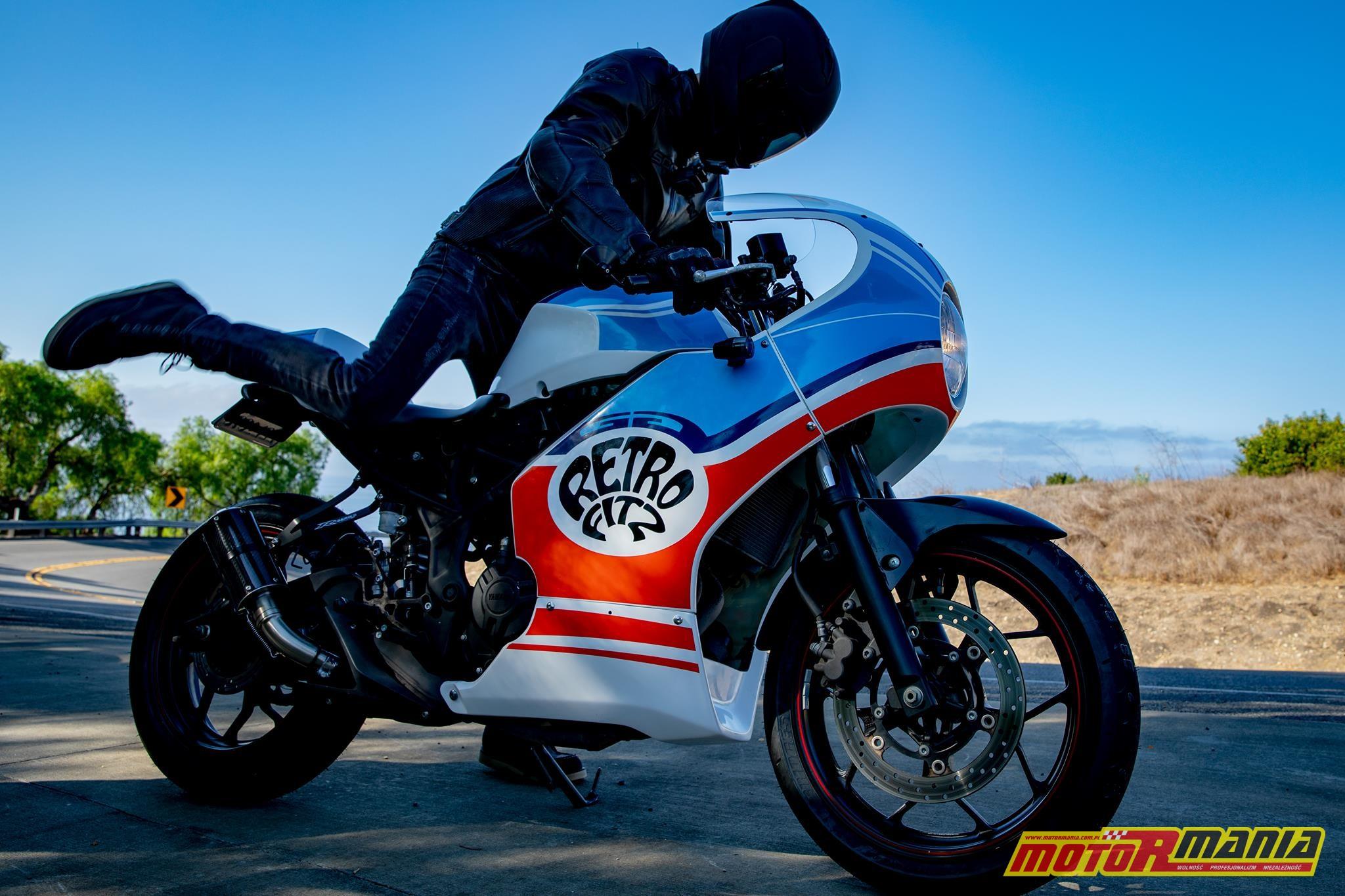 Yamaha R3 owiewki cafe racer  (13)