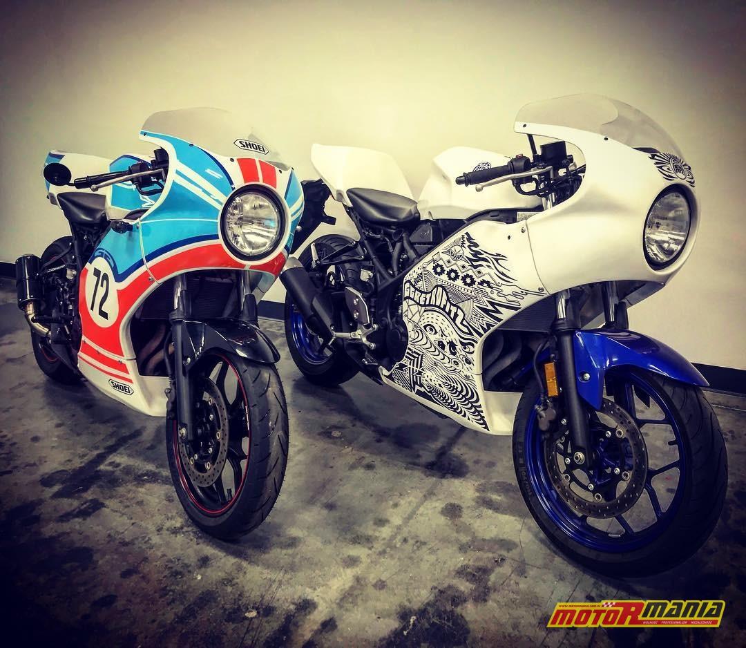 Yamaha R3 owiewki cafe racer  (14)