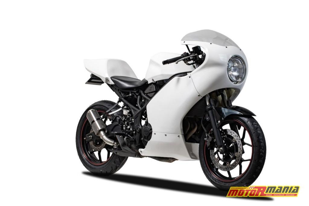 Yamaha R3 owiewki cafe racer  (2)