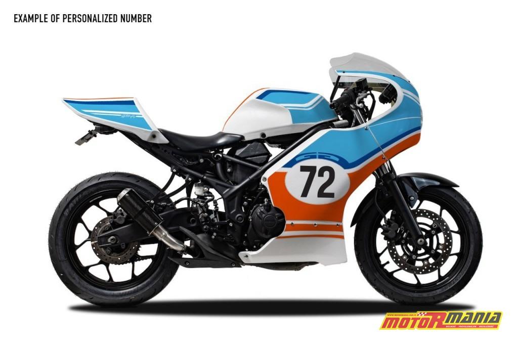 Yamaha R3 owiewki cafe racer  (9)