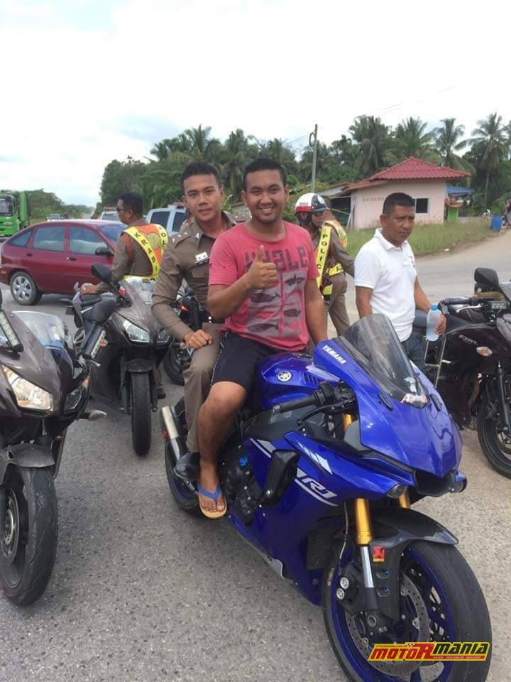 Profesjonalny zestaw pościgowy w Tajlandii.