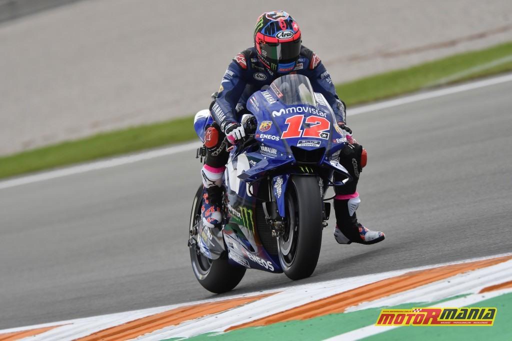 Agresywny styl jazdy Vinalesa widaćgołym okiem - zdjęcia Yamaha