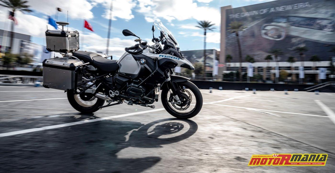 BMW R1200GS autonomiczna jazda bez kierowcy - CES Las Vegas 2019 (1)