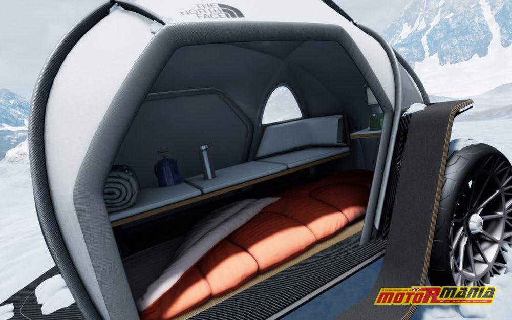 BMW i The North Face przyczepa z materiałem Futurelight (3)