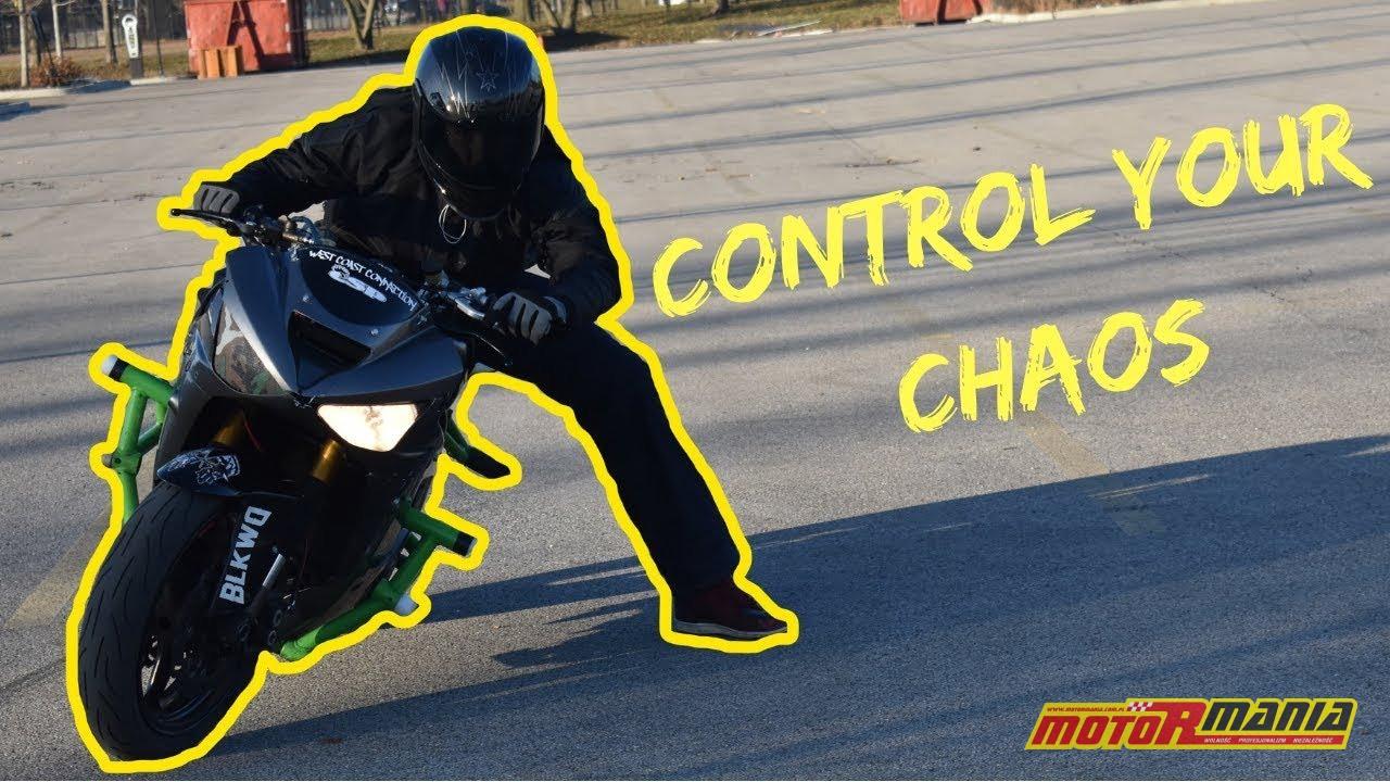 Drift na motocyklu