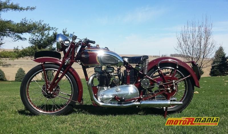 Triumph 500cc 5T Speed Twin 1938 Steve McQueen