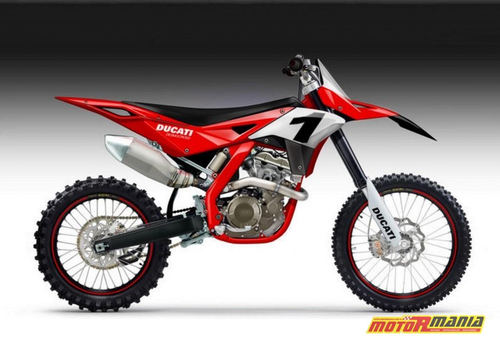 Ducati 450 Desmocross - projekt Oberdana Bezzi z 2012 roku