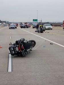policja wypadek irving