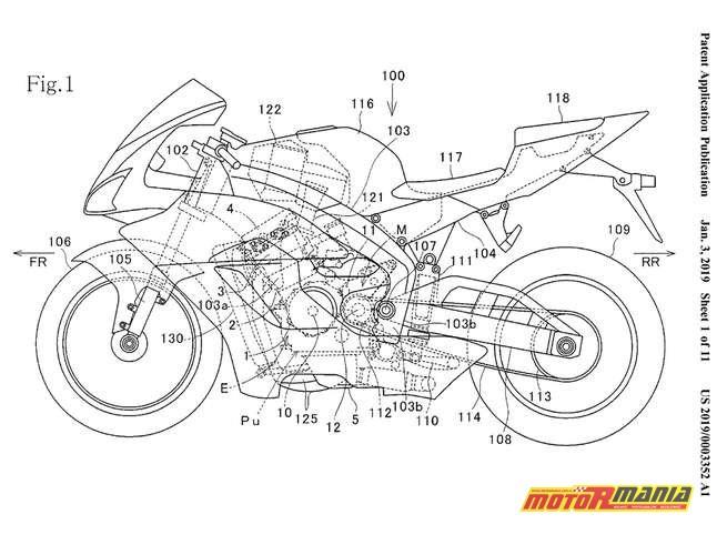 zmienne fazy rozrządu Honda CBR1000RR CBR1100RR Fireblade (2)
