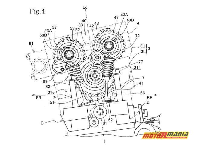 zmienne fazy rozrządu Honda CBR1000RR CBR1100RR Fireblade (3)