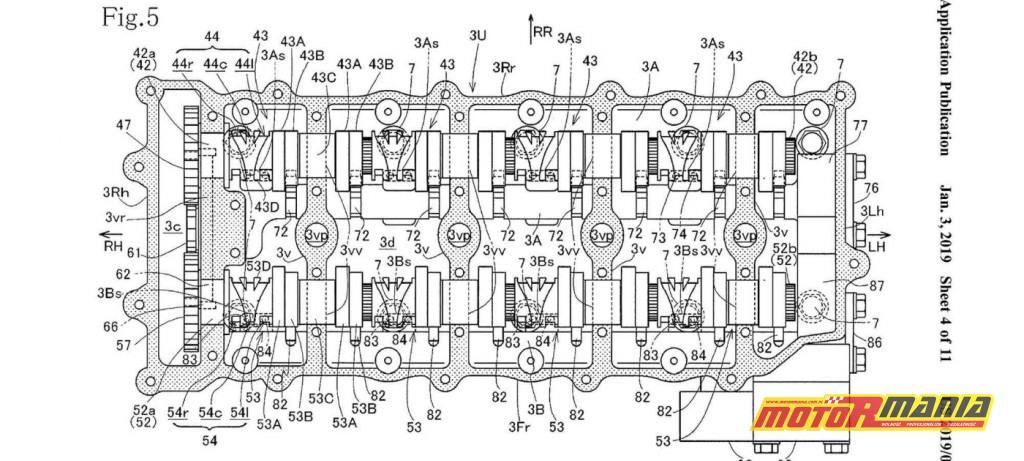 zmienne fazy rozrządu Honda CBR1000RR CBR1100RR Fireblade (4)