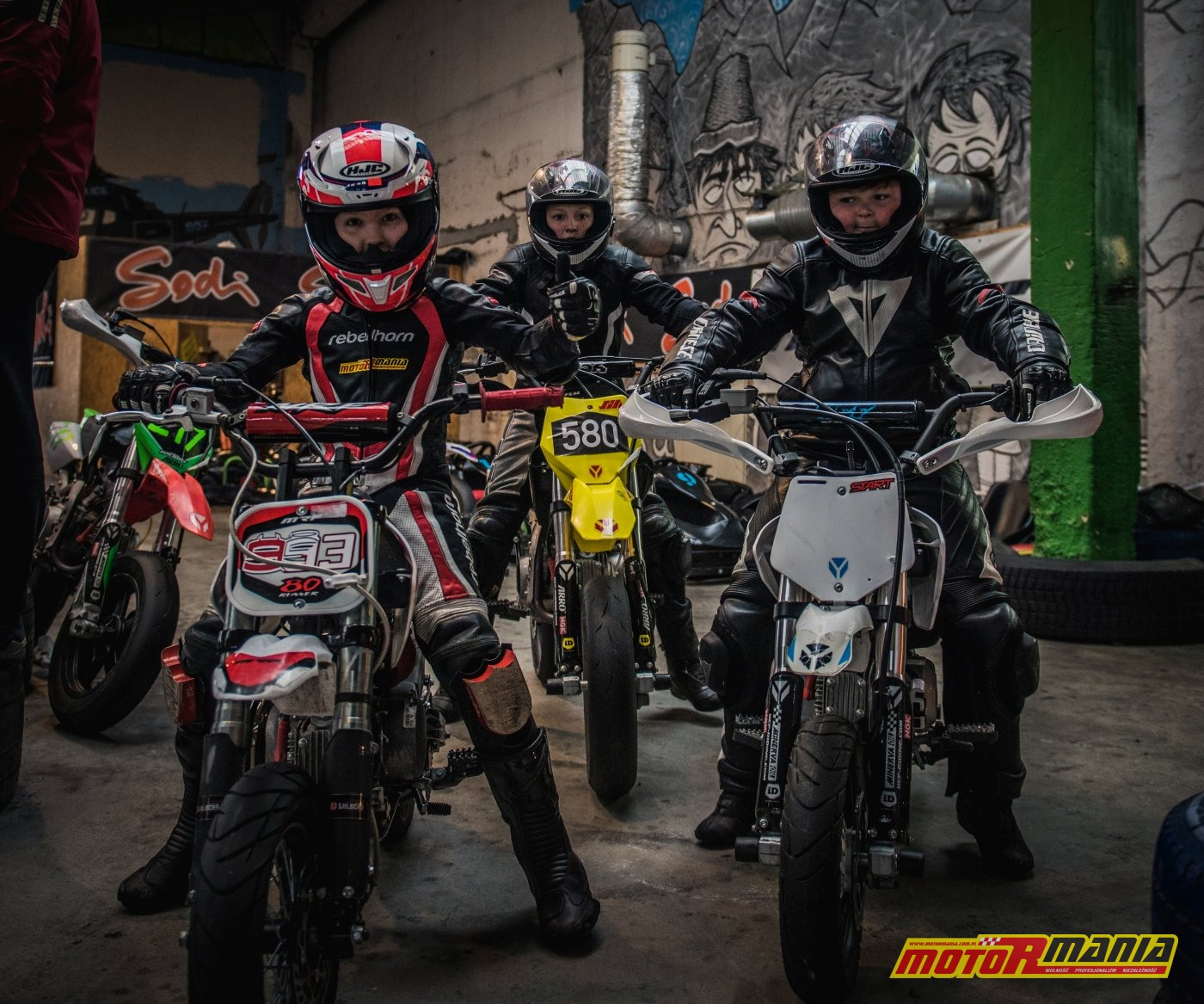 MotoRmania KidzGP Team - treningi przed sezonem 2019 (5)