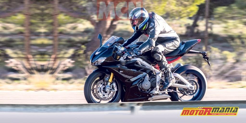Triumph Daytona 765 2020 zdjecia szpiegowskie (1)
