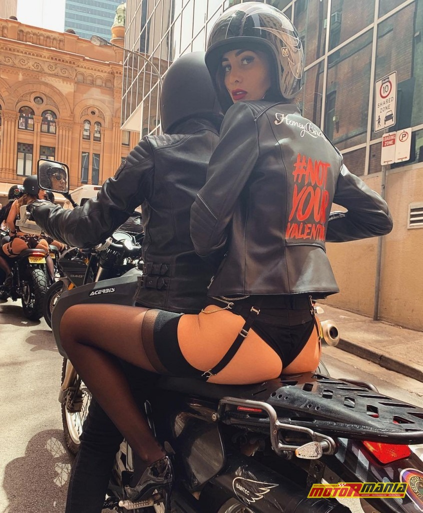 sydney dziewczyny w bieliznie na motocyklach not your valentine (4)