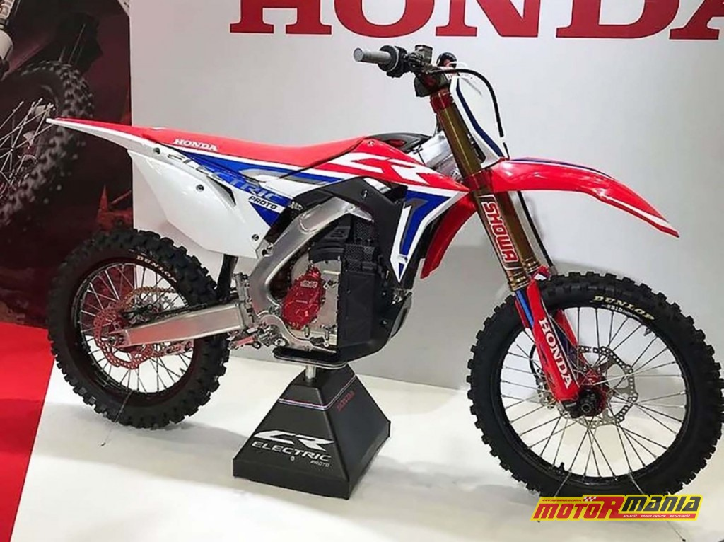 Honda CR Electric prototyp 2019