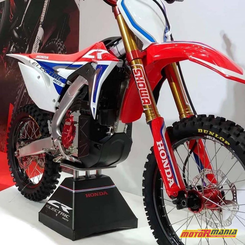 Honda CR Electric prototyp cross 2019