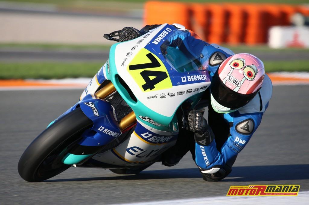 Piotrek Biesiekirski trening moto2