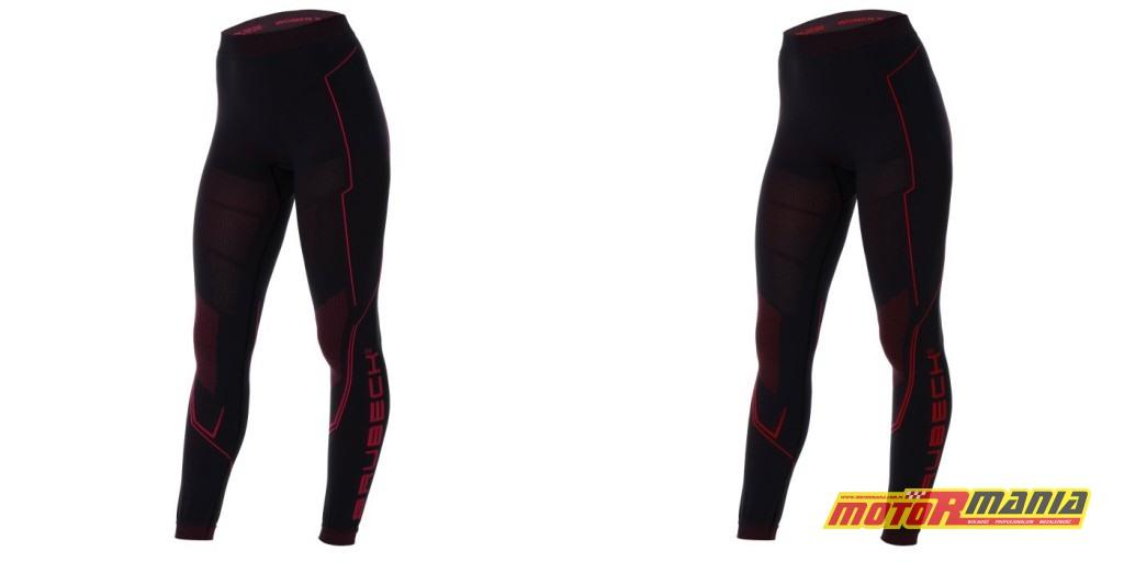 Spodnie Brubeck Cooler w kolorach Amaranth oraz Red.