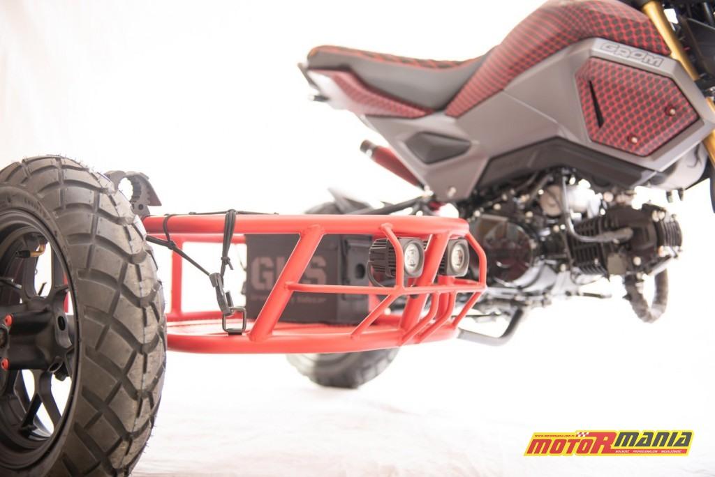 Honda Grom GUS MSX125 wózek boczny (1)