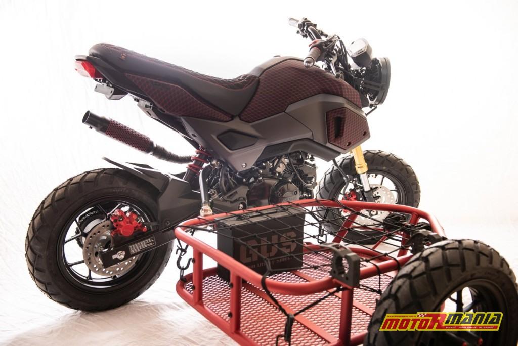 Honda Grom GUS MSX125 wózek boczny (2)
