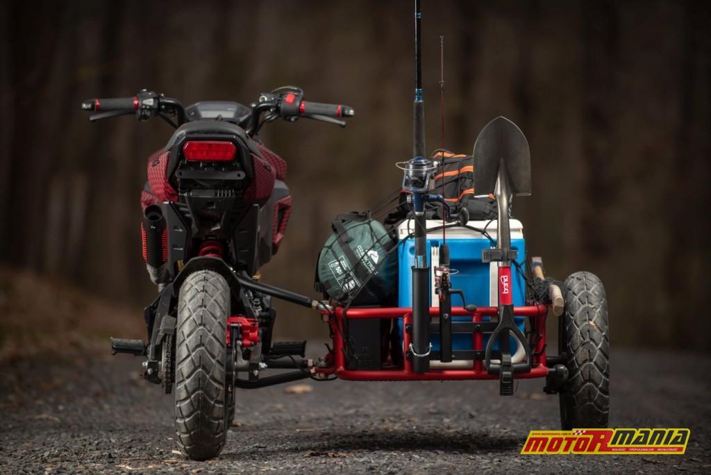 Honda Grom GUS MSX125 wózek boczny (5)