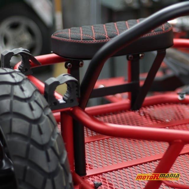 Honda Grom GUS MSX125 wózek boczny (7)