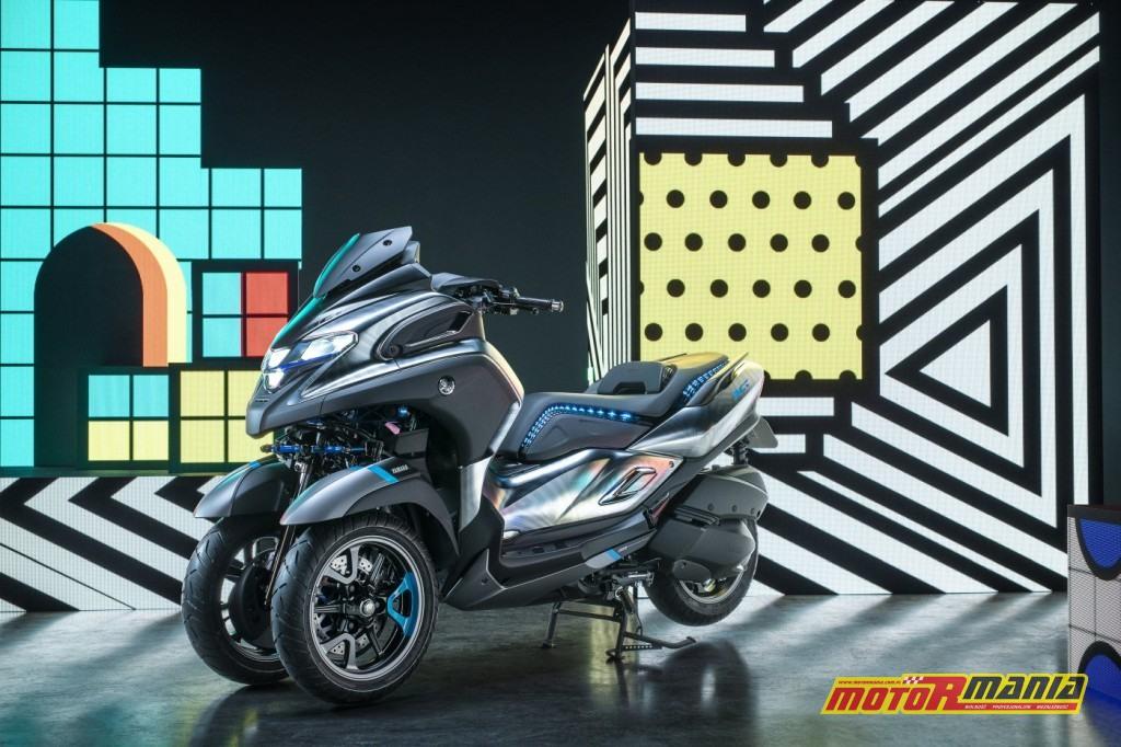 Koncepcyjna Yamaha 3CT zaprezentowana na EICMA 2018